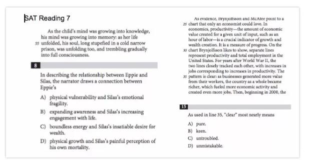 SAT备考经验:7个月,1350-1520,这么做就够了   内附万能背单词法+错题集-TestDaily厚朴优学