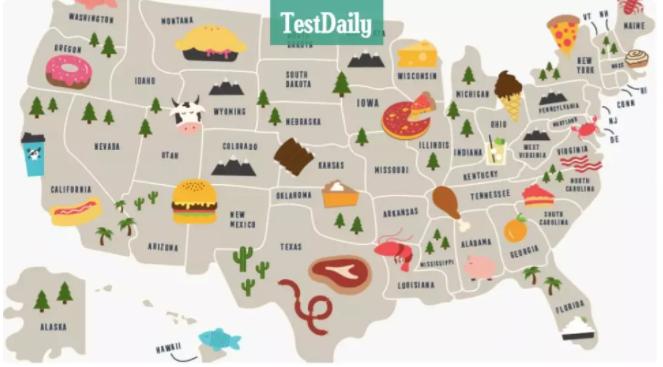 谁说留学吃不好?快把这份美食地图甩给TA!各州最佳食物都有啦!