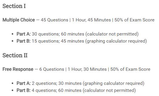 AP微积分考试设置及备考分析-AP微积分教材推荐