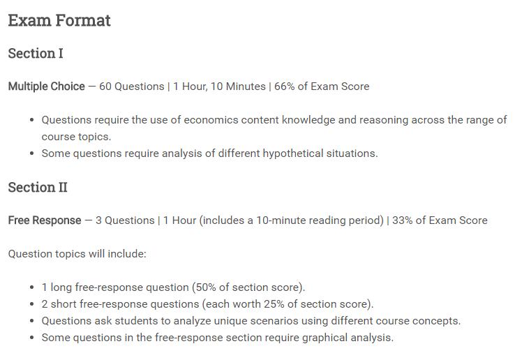 AP微观经济学考试指南-AP微观经济学考试内容和教材推荐