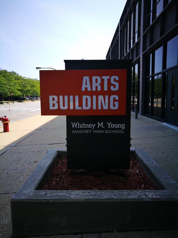 Whitney Young High School, Chicago, Illinois-美国芝加哥SAT考场测评