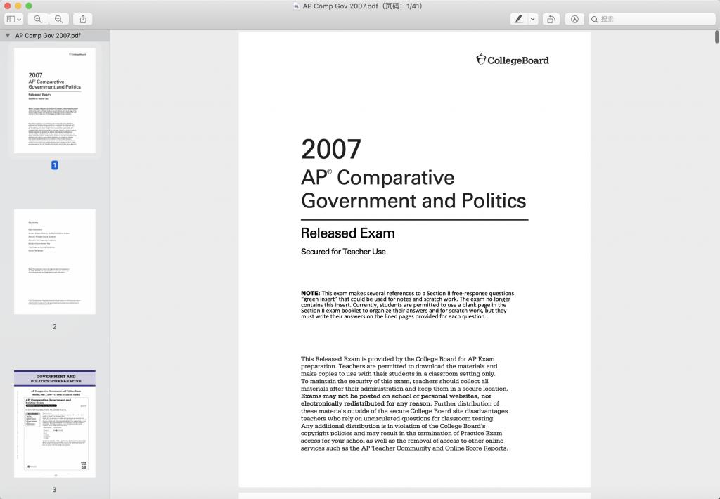 2007年比较政府真题下载-选择题下载-TestDaily厚朴优学