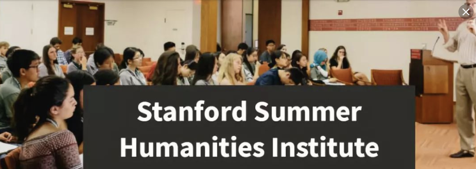 2020年斯坦福夏校:Stanford Summer Humanities Institute-SHI-人文艺术夏校