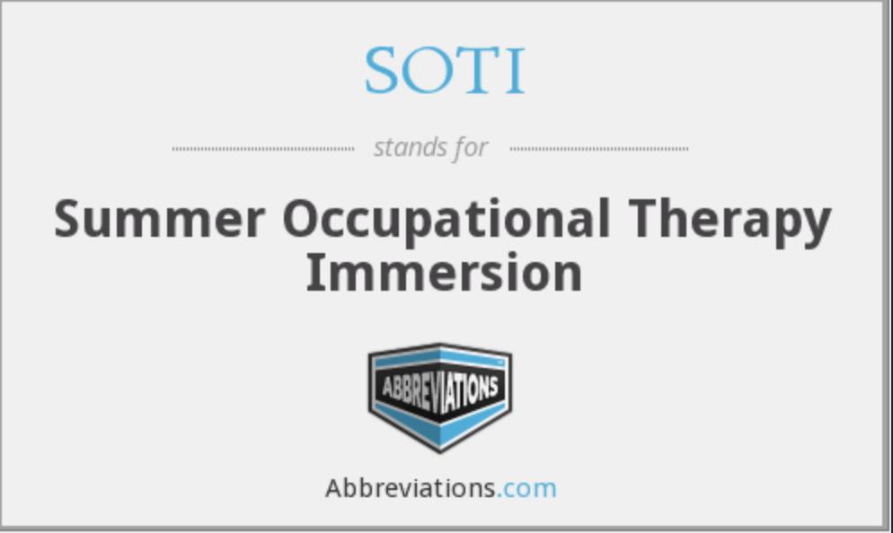 2020南加大夏校暑期深度职业治疗项目:Summer Occupational Therapy Immersion (SOTI) Program