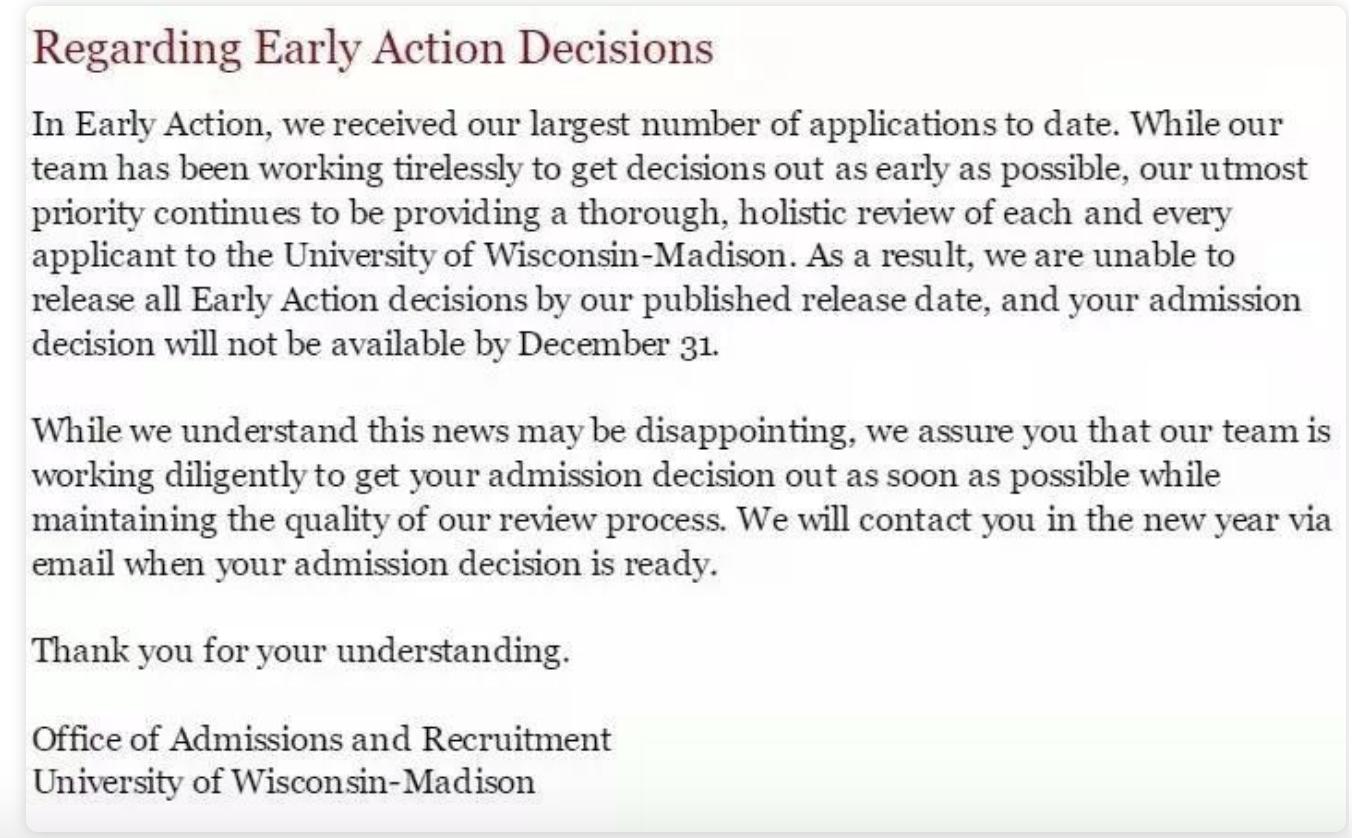 2020年UWM(威斯康星麦迪逊分校)终于EA放榜了!OSU(俄亥俄州立大学)也放榜,录取标准怎么样?