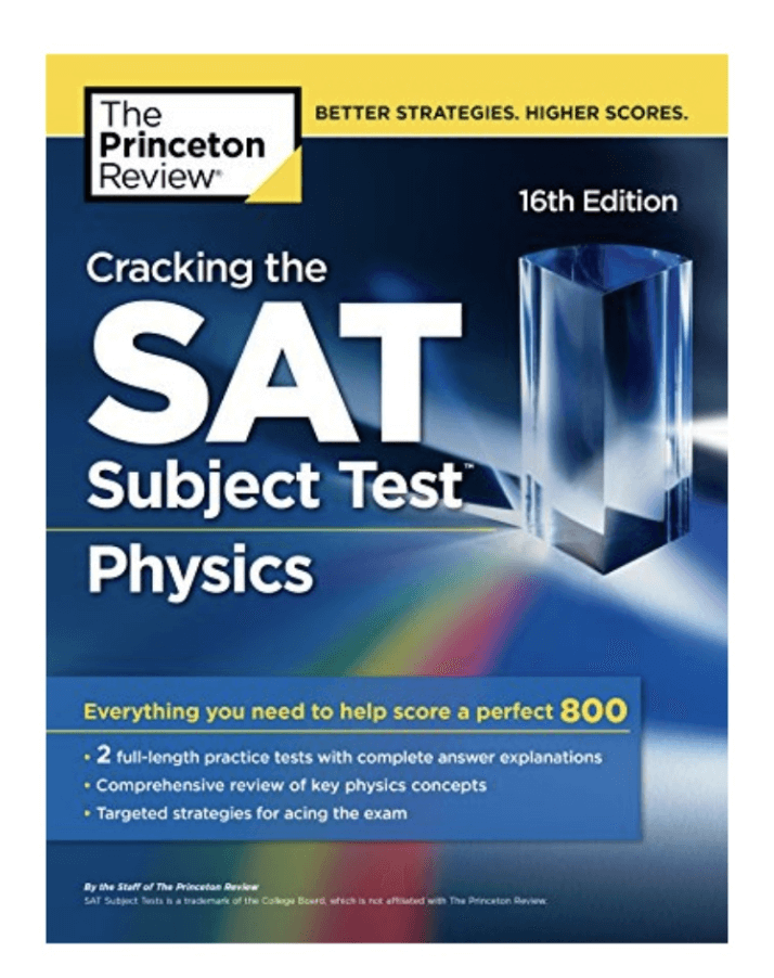 SAT2物理 普林斯顿PDF电子书下载