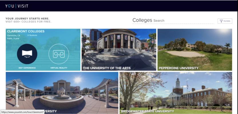 """美国大学""""云""""访校攻略:多途径""""云""""访校,足不出户就可以访问美国各所大学"""