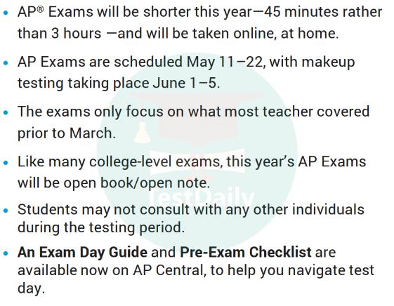 2020年AP微积分考试内容/形式有什么变化?考试时间是什么?凌晨考AP如何做准备?可以使用笔记吗?