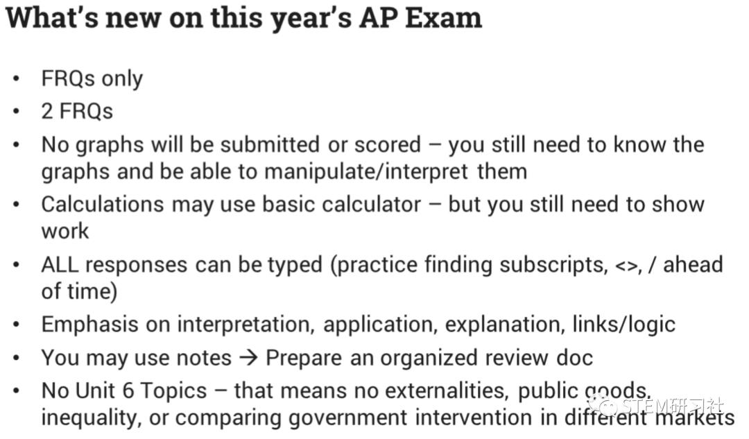 2020年AP微观经济考试时间发布!还有备考方法/考试范围/答案提交方式/计算器的使用等问题的解答