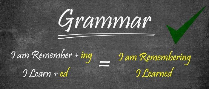 KET/PET一般过去时语法学习:英语一般过去时用法/结构及动词变化形式详细讲解