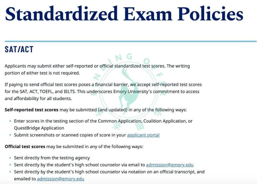 2020年Top30美国大学申请条件有哪些变化?还需要提交SAT/ACT/SAT2/托福成绩吗?