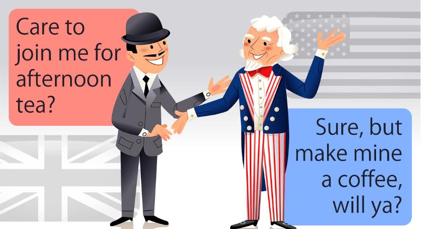 英式英语和美式英语有哪些区别?语法/词汇/拼写/发音分别有什么不同?-美式英语和英式英语的差异