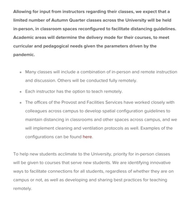 2020年美国大学秋季开学计划汇总:芝加哥大学/宾大/JHU采用线上线下混合授课模式;斯坦福/达特茅斯分批次开学
