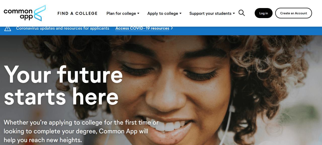 2021年美国大学Fall申请季正式开始!Common App注册流程/基本信息填写步骤详解-CA申请系统填写攻略