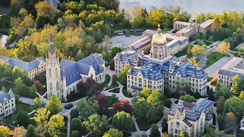 University of Notre Dame-圣母大学