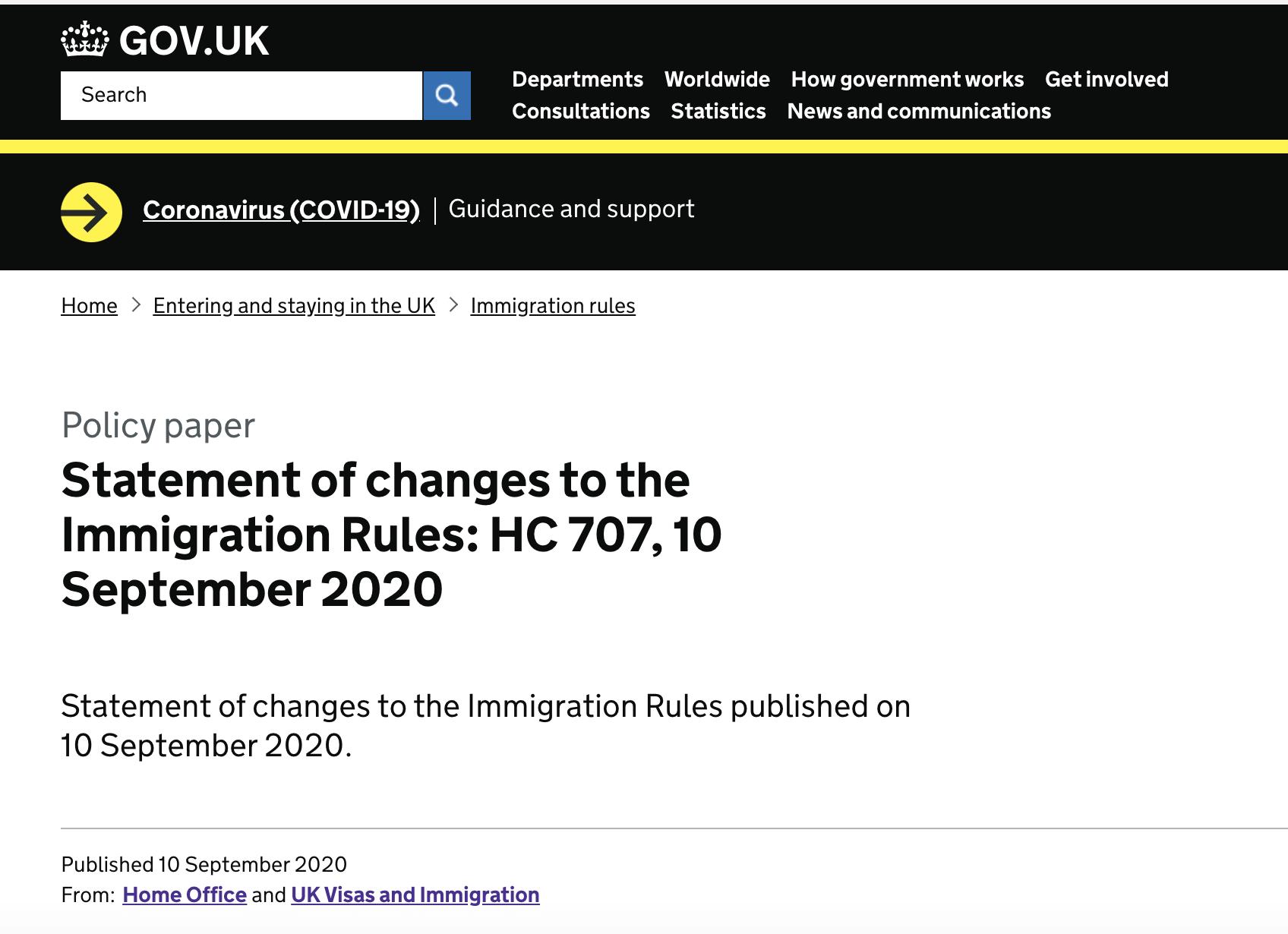 2020年英国学生签证作出重大改变,10月5日后Tier 4签证将被替代!-英国新学生签证申请条件及体系变化