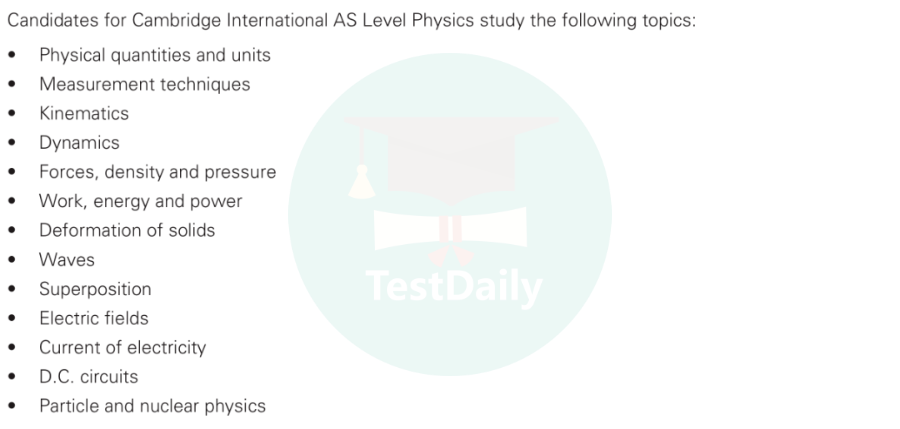 A Level物理备考全解析:考纲/考试形式/评分标准/A*要求/备考建议-CIE/Edexcel考试局A Level物理要求