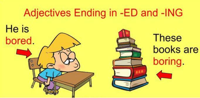 KET/PET形容词英语语法总结:-ed和-ing结尾的形容词有哪些区别?分别表达什么意思?使用时如何选择?