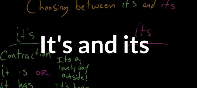 如何区分英语中的its 和it's?正确的用法是什么?-KET/PET基础英语语法突破