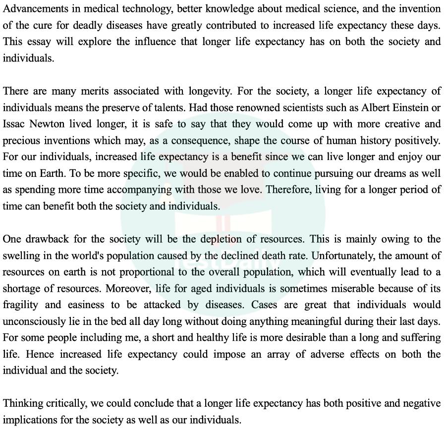 2021年1月21日雅思考试真题:大作文题目及高分范文