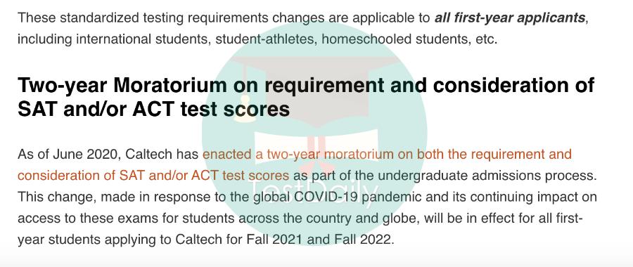 2021年这些TOP50美国大学申请季仍采取Test-optional政策!-2021年美国大学申请政策