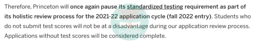 2021年7所藤校携手UC/BU/BC等美国大学继续采取Test-optional 政策||附ED2申请放榜时间