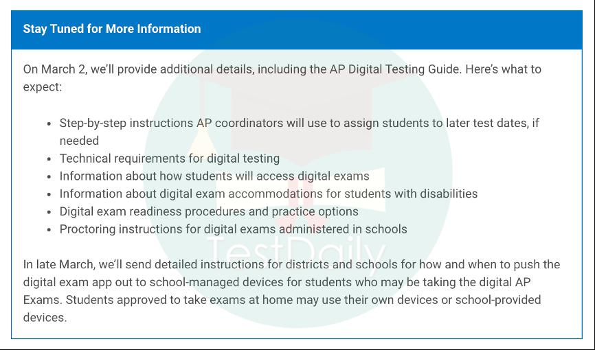 2021年AP考试次数增加,并将实行线上线下混合考试模式!附2021年AP最新考试时间