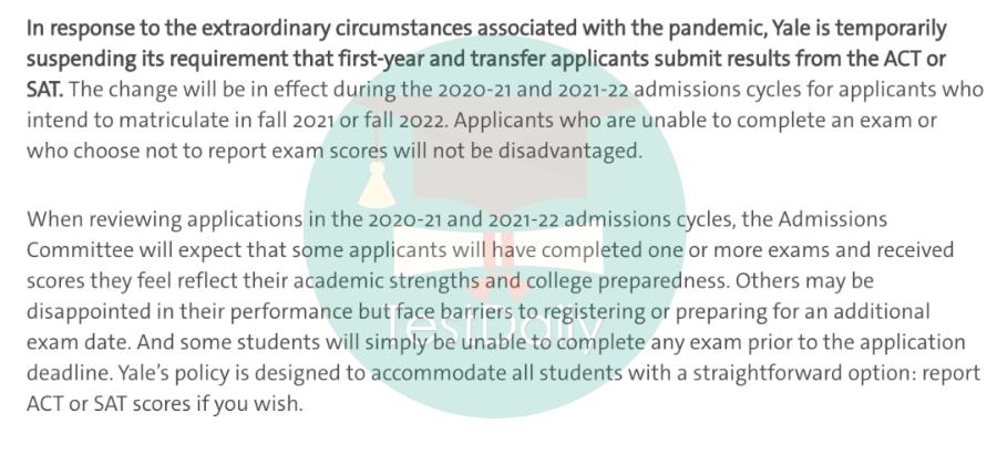 2021-2022年哪些美国大学申请季会采取Test-optional政策?-附美国综合性大学TOP50标化政策汇总