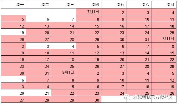 2021年雅思机考7-9月考试开放报名!|附雅思机考7-9月考试时间表