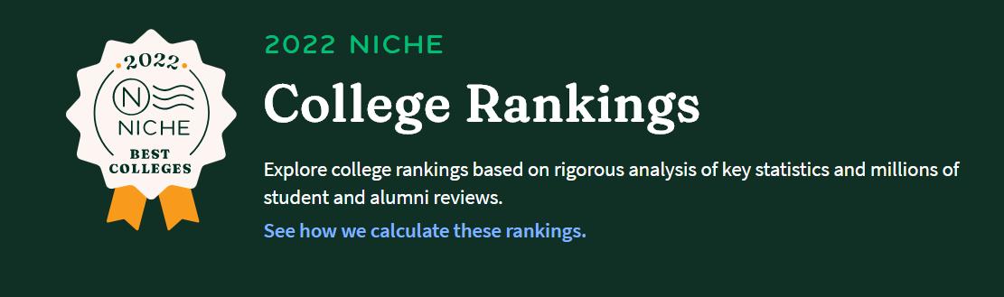 Niche公布2022最佳美国大学排名,你的梦校排第几?