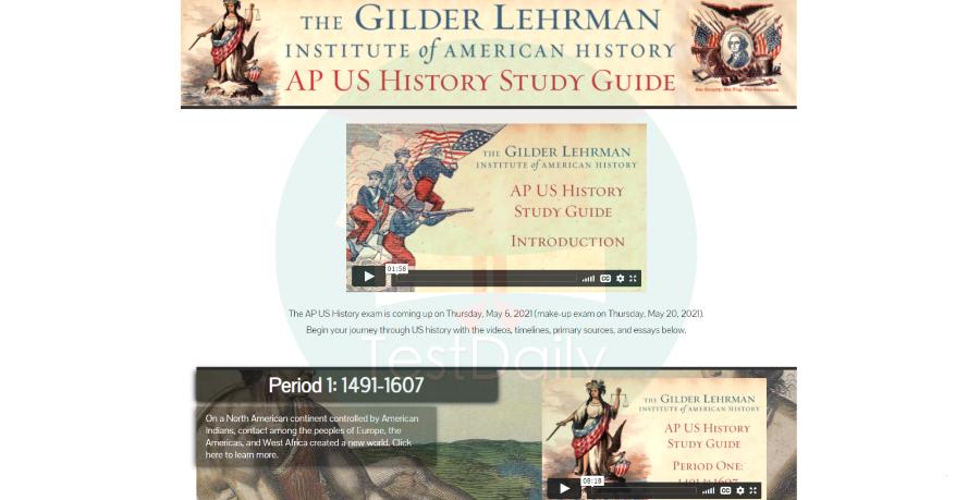 AP美国历史学习网站推荐,这7个宝藏线上学习资源赶紧收藏!